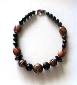 ketting black copper