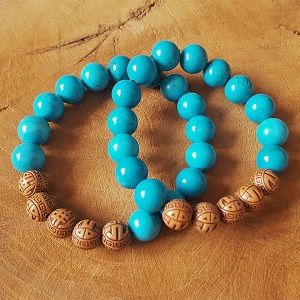 toffe armbanden turquoise